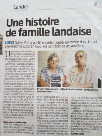 Article Sud-Ouest 25 08 20
